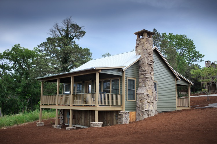 Big Cedar Lodge - Lodging - Lakeside Cottage - Exterior (2)